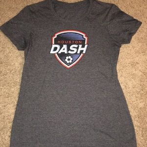 Houston Dash soccer sz small t shirt